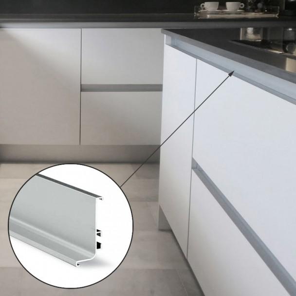 Système De Profil Gola Horizontale Supérieure En Aluminium 8006