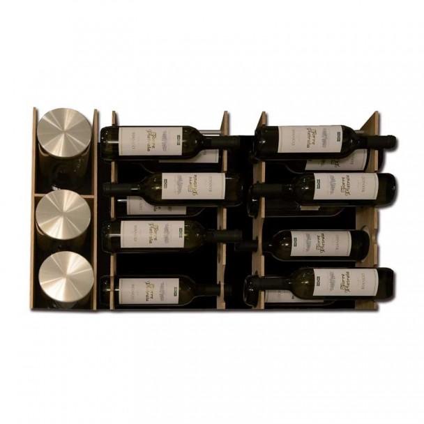 Bouteille rack Tiroir Cacerolero 900 mm Grand Tiroir