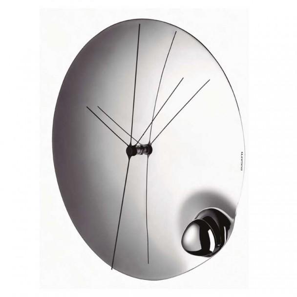 Horloge murale 32 cm en Acier Inoxydable, Acqua