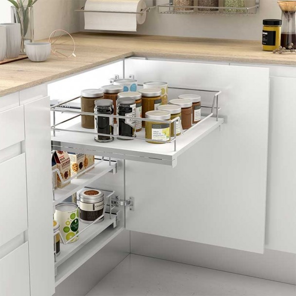 Panier Multi-Usages Amovible En Ligne De Cuisine Compact