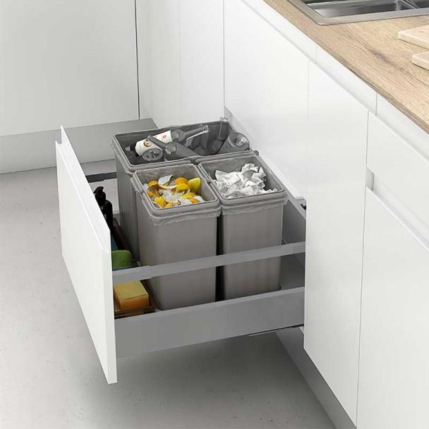 Bacs De Recyclage Poubelle De Tiroir Mod. J