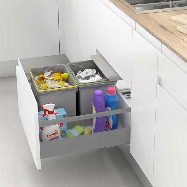 Bacs De Recyclage Poubelle De Tiroir Mod. G