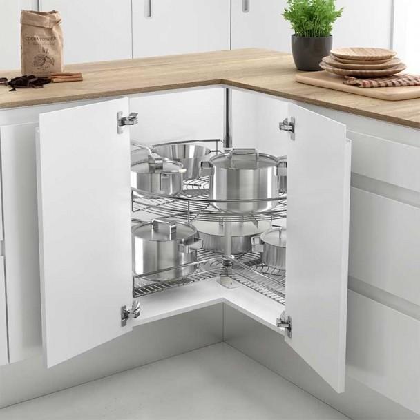 Tourne disque de 270 type de meubles coin cuisine classique ligne - Meuble en coin cuisine ...
