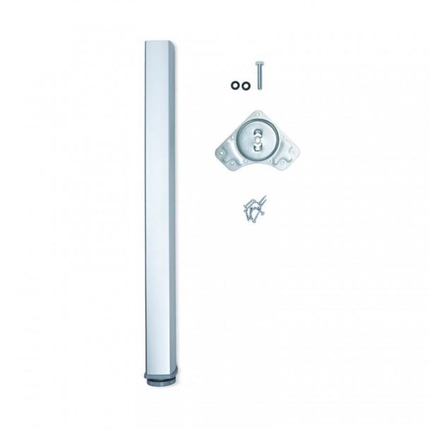 Pied Réglable pour Table Fitwid en Aluminium