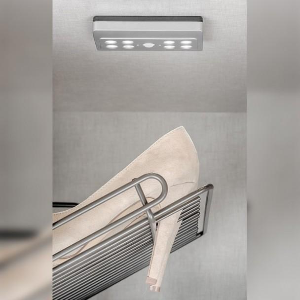 Spot LED à Piles avec Capteur de Mouvement Draco Lumière Froide