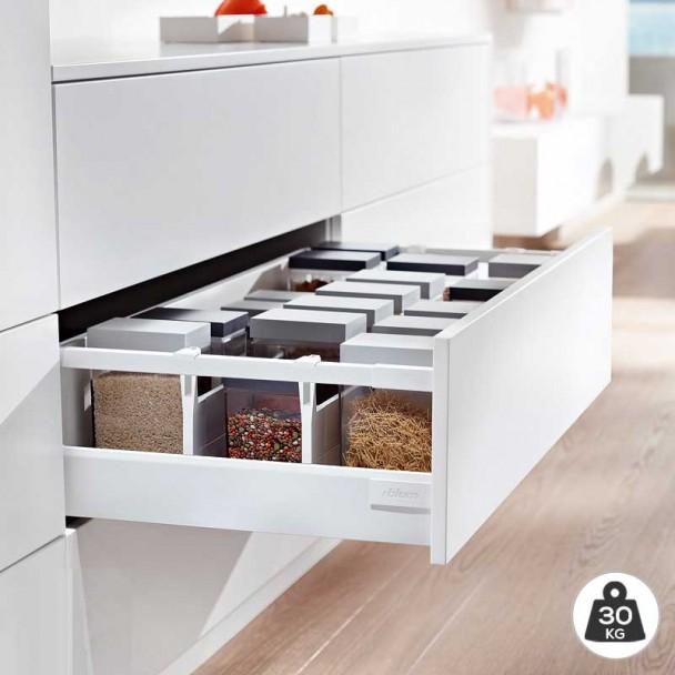 Cacerolero Blanc 30 kg Blum Tandembox Antaro D une cuisine