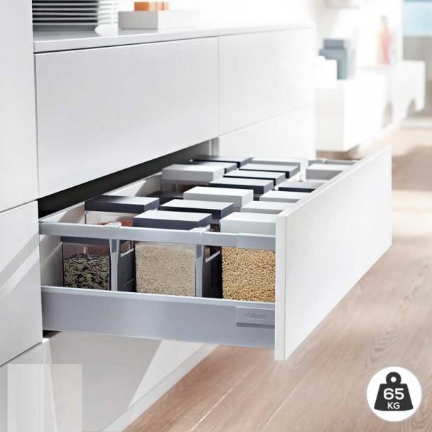 Cacerolero Gris 65 kg Blum Tandembox Antaro D une cuisine