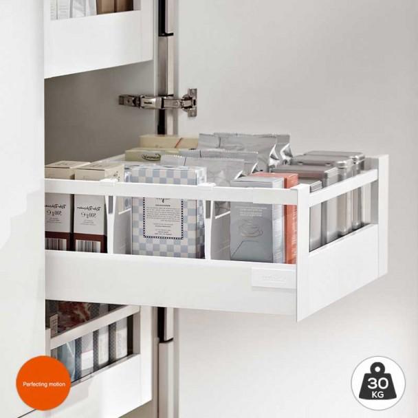 Cacerolero Intérieur Blanc 30 kg Tandembox Antaro D une cuisine