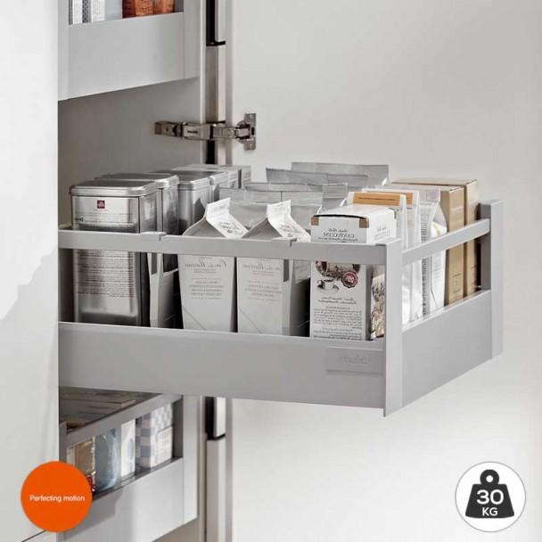 Cacerolero Gris Intérieur de 30 kg Tandembox Antaro D une cuisine