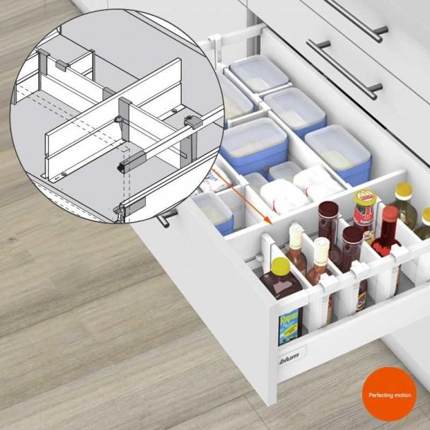 Partition ORGA-LINE pour les blocs-tiroirs de Cuisine Blum