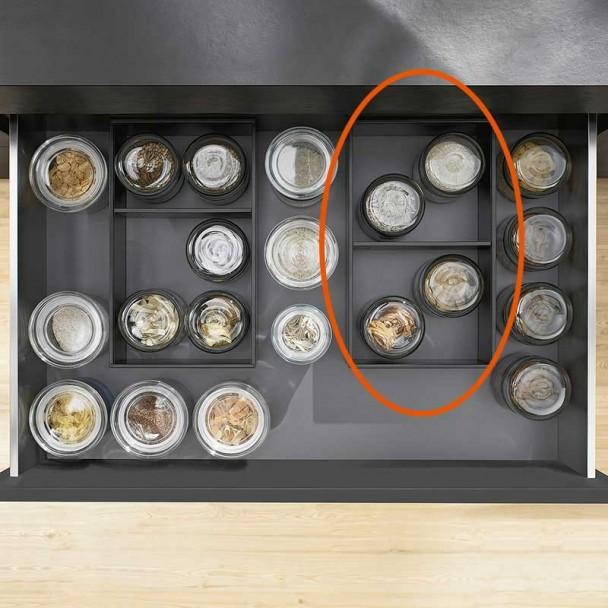 Séparateur d'image AMBIA-LINE en Acier pour Cacerolero Cuisine LEGRABOX