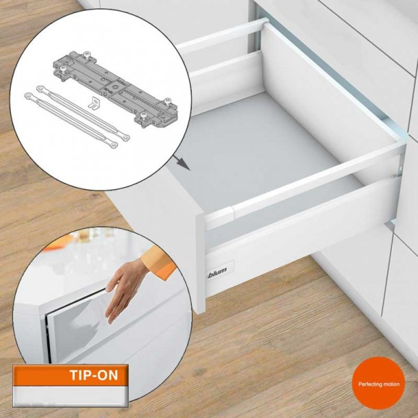Synchronisation TIP-on pour les Tiroirs et les blocs-tiroirs Tandembox Antaro