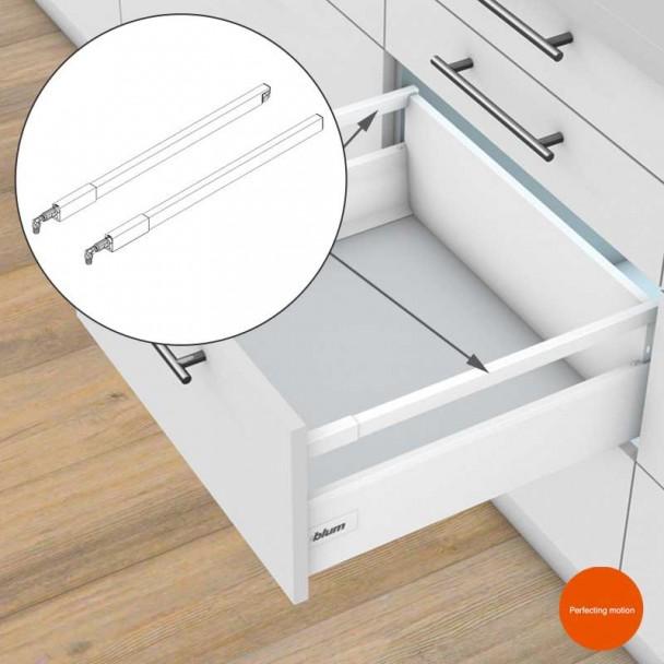 Galerie Longitudinale, pour les blocs-tiroirs Tandembox Antaro
