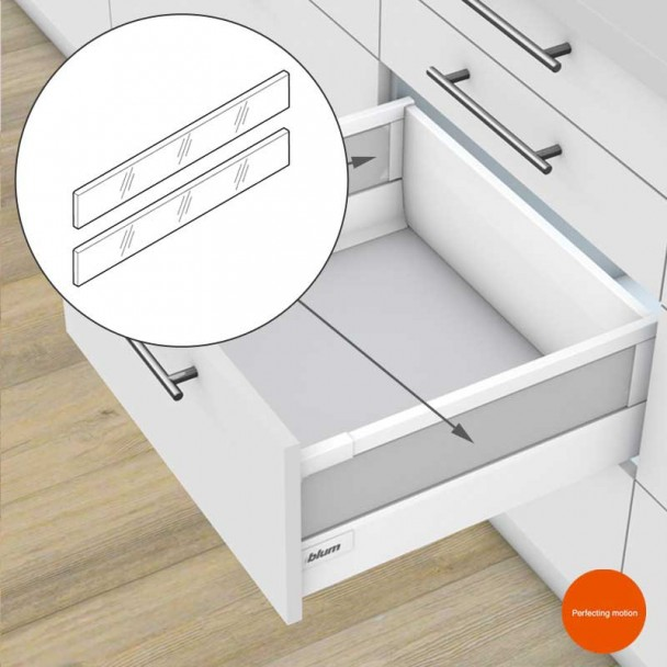 Éléments d'Insertion Latérale pour les blocs-tiroirs Tandembox Antaro
