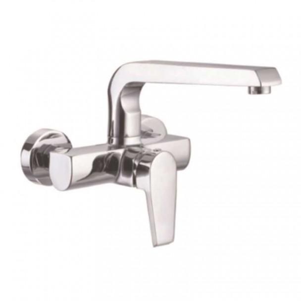 Poignée simple robinet de Lavabo mur Mur GF108