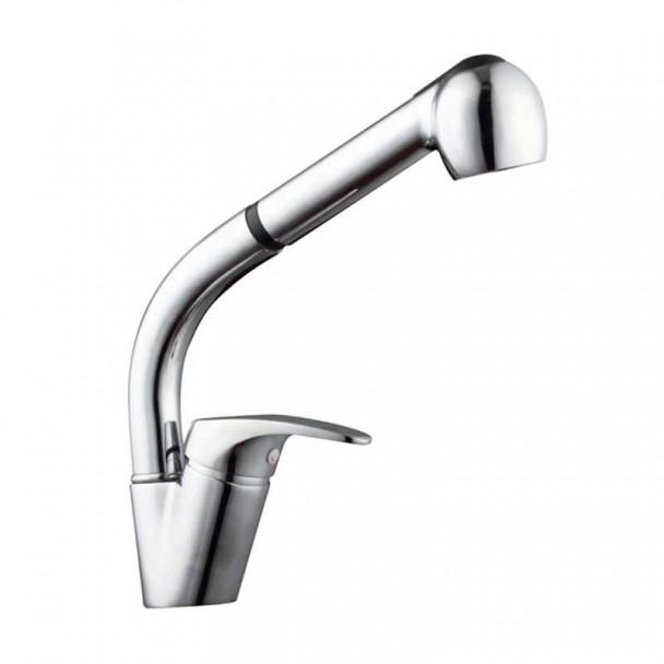 Poignée simple robinet de Lavabo Verticale de Douche Amovible EC-19