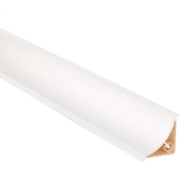 Plinthe Isolant Concave Blanc pour Comptoir