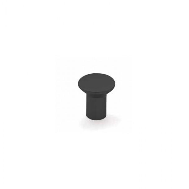 Bouton de Zamak Noir Mat 3510