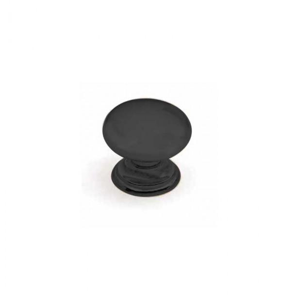 Bouton de Zamak Noir Mat 3459