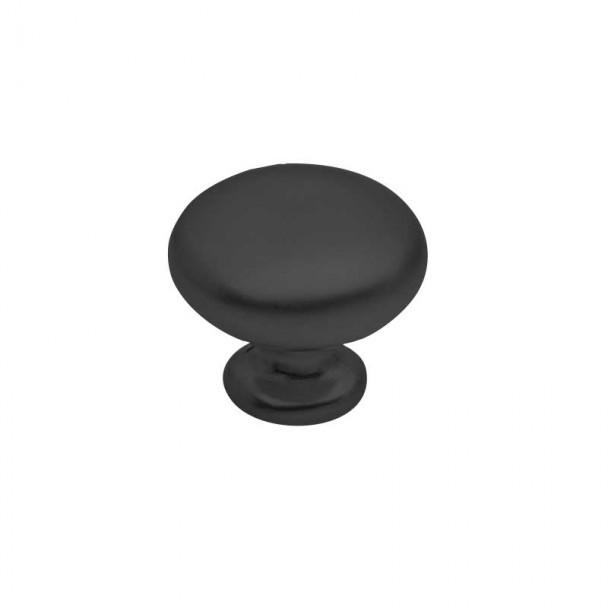 Bouton de Zamak Noir Mat 3505