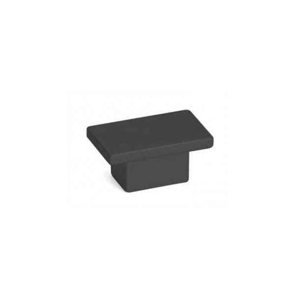 Bouton de Zamak Noir Mat 2079E