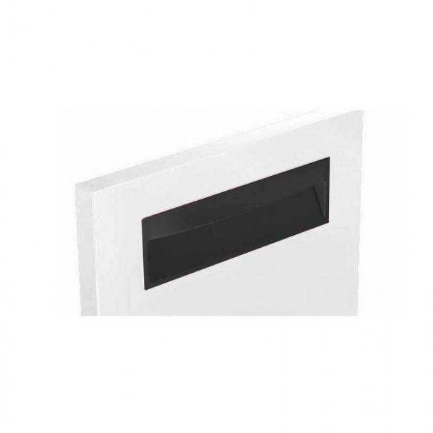 Poignée de Zamak Noir Mat 4057E