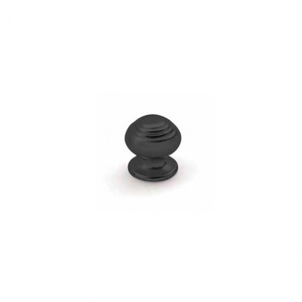 Bouton de Zamak Noir Mat 3507