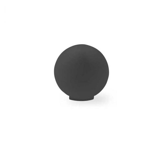 Bouton de Résine Noir Mat 3416