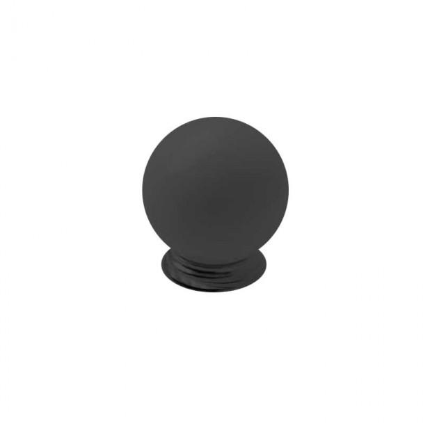 Bouton de Résine Noir Mat 3417