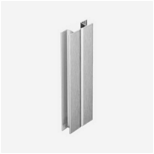 Multi-angle Aluminium Brossé pour Plinthe en PVC de Cuisine