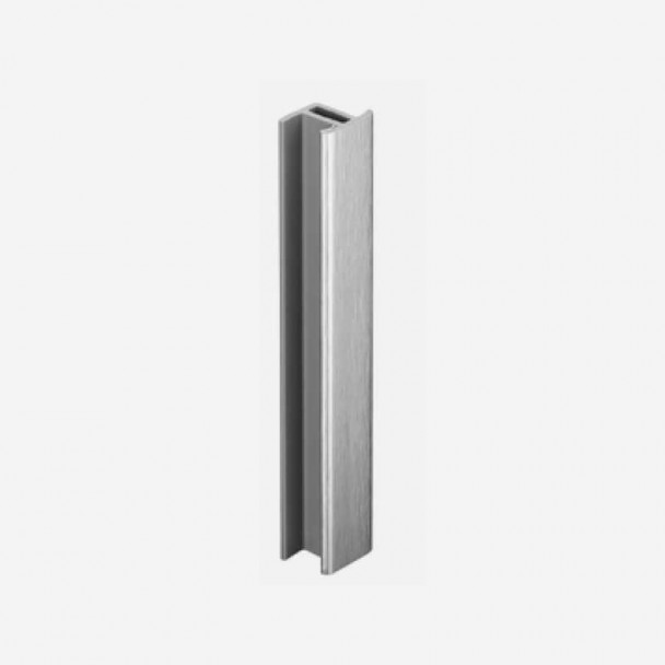 Union Aluminium Brossé pour Plinthe PVC de Cuisine