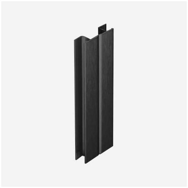 Multi-angle Noir pour Plinthe en PVC de Cuisine