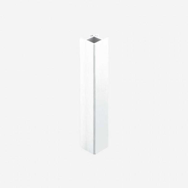 Angle 90º Blanc pour Plinthes en PVC de Cuisine