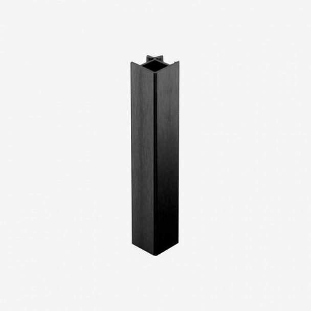 Angle 90º Noir pour Plinthes en PVC de Cuisine