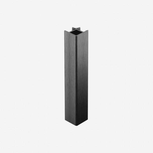Angle 90º Anthracite pour Plinthes en PVC de Cuisine