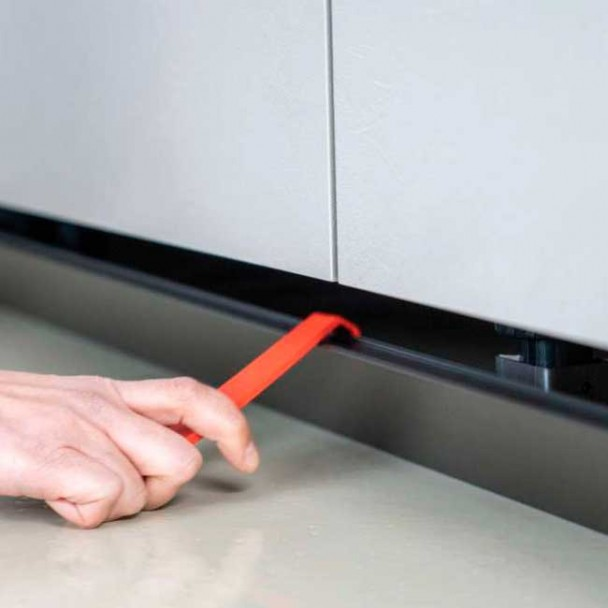 Levier de Extraction Clip Magnétique Plinthe PVC