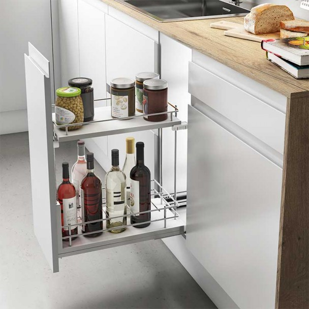 Wine Rack Amovible Guides Basale Compact