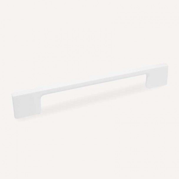 Poignée de Zamak Blanc Mat 4706